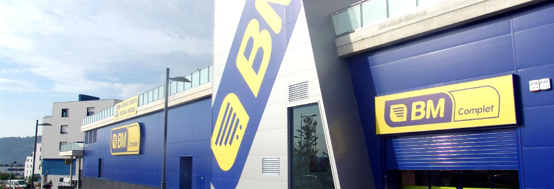 Industrias del Acero Cianco a instalado todo el mobiliario para alimentación fabricado en acero inoxidable para el centro comercial BM Pagola en San Sebastián