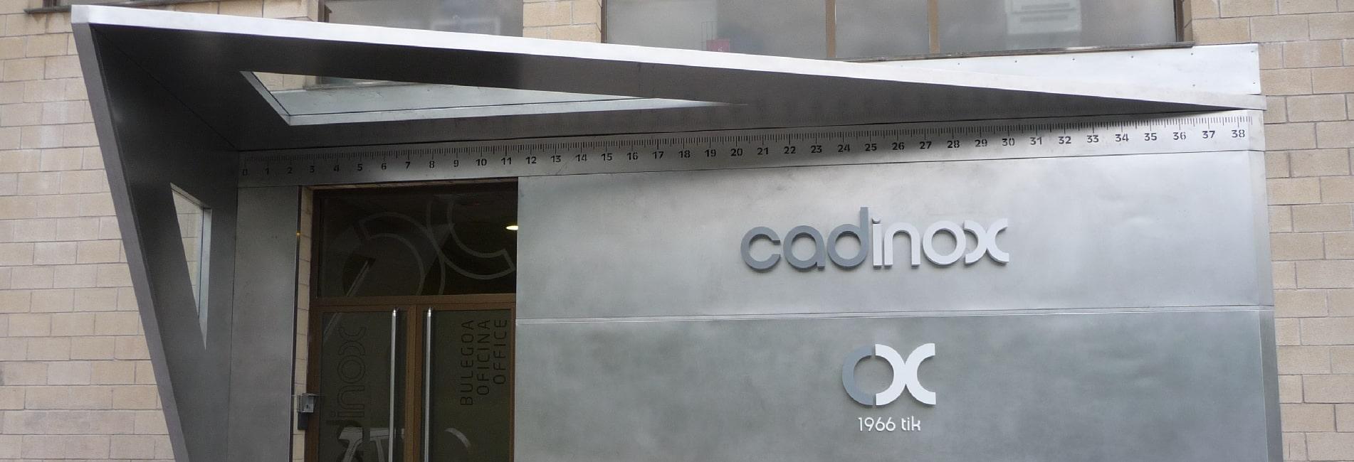 Trabajo realizado para la empresa CADINOX