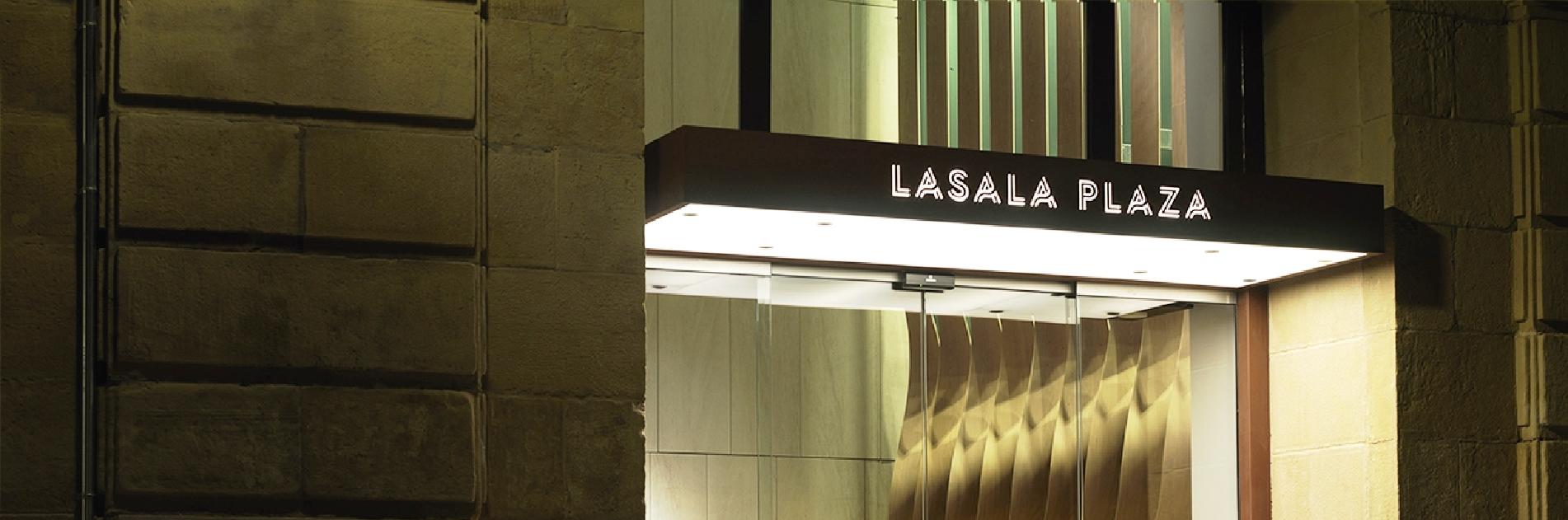 Cianco ha trabajado junto a arquitectos y decoreadores en el Plaza Lasasa Hotel para equipar dos cocinas en acero inoxidable
