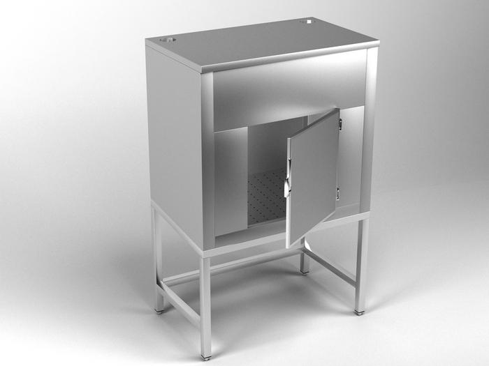 Modelo APSH - Silo para hielo en escamas